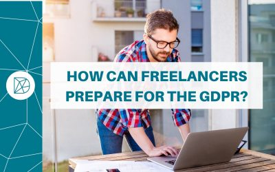 How can freelancers prepare for the GDPR?
