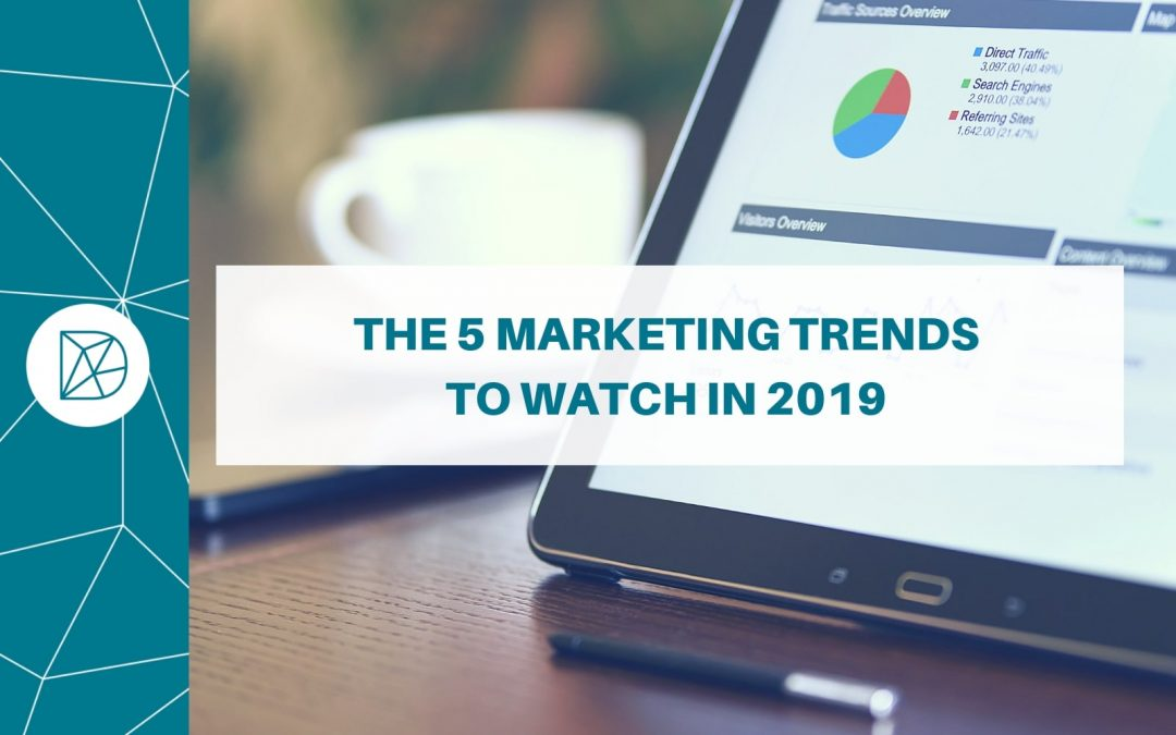 The 5 marketing trends to watch in 2019